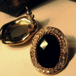 Austin-Earrings-Costume-Jewelry-Mariah-Black-Gem-and-Rhinestone-Vintage-Stud-Earrings